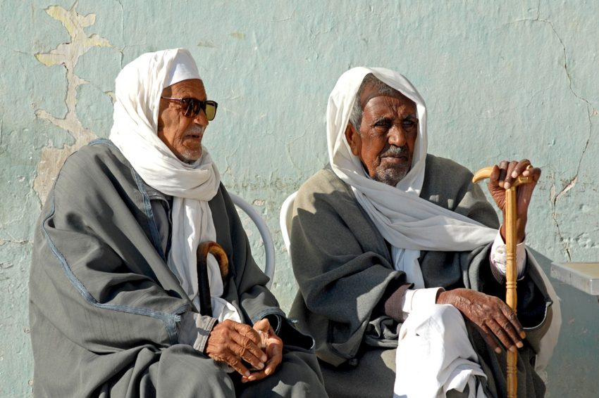 Tunisia Bedouin Men Friendship Age